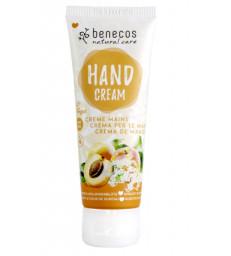 Crème mains Abricot et Fleur de sureau 75ml Benecos