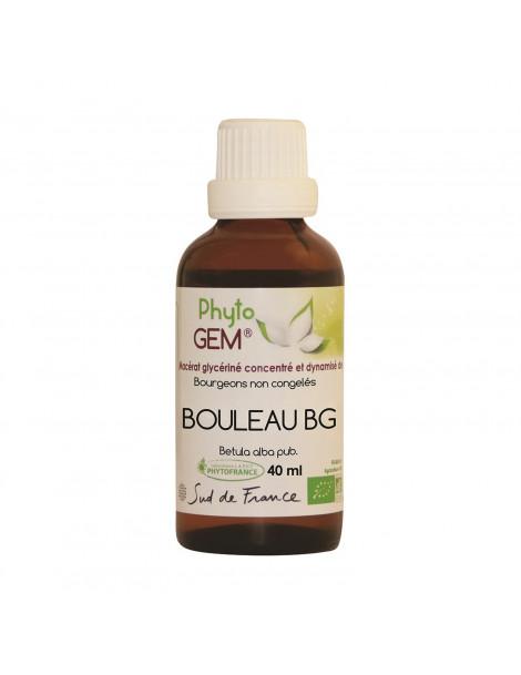 Gemmo Bouleau Blanc 40ml Phytofrance