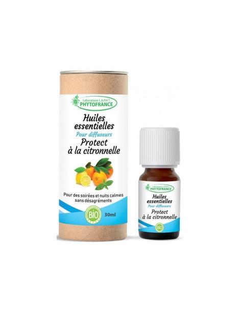 Protect à la citronnelle pour diffuseurs 30ml Phytofrance