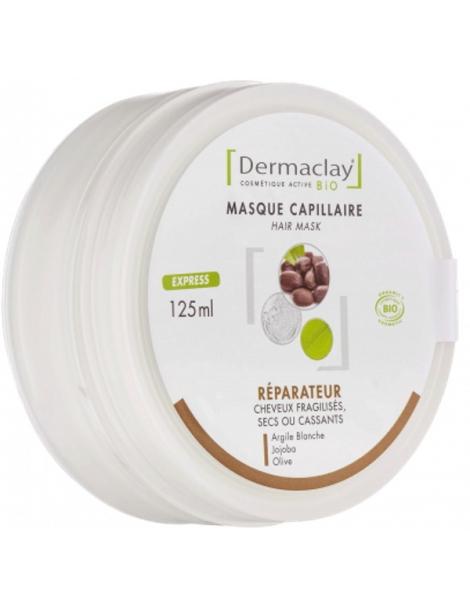 Masque capillaire réparateur Cheveux secs 125ml Dermaclay