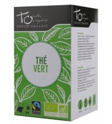 Thé vert BIO 24 sachets 48g Touch Organic