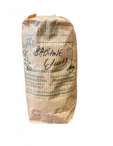 Badiane (Anis Étoilé) fruit entier BIO 100g Herboristerie de Paris