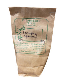Fenugrec Poudre BIO 100g Herboristerie de paris