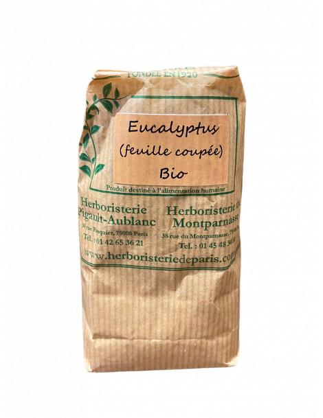 Eucalyptus feuilles longues coupées bio 100 gr Herboristerie de Paris