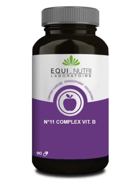 N11 B 50 Complexe 90 gélules végétales Equi Nutri groupe B Herboristerie de paris
