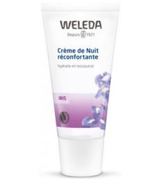 Crème de nuit réconfortante à l'Iris hydrate et ressource 30ml Weleda