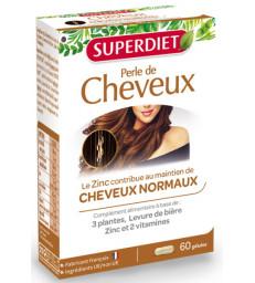Perle de cheveux 60 gélules  Super Diet