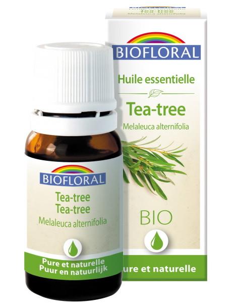 huile essentielle Arbre à thé 10ml Biofloral Herboristerie de paris