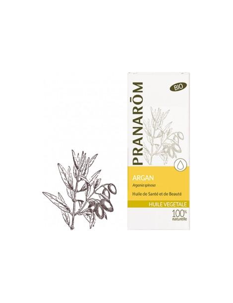 Huile végétale d'Argan bio Flacon 50ml Pranarôm