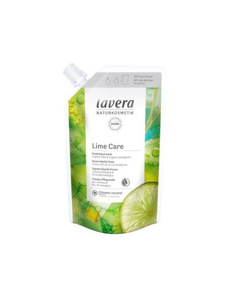 Recharge Savon liquide Lime Care 500ml Lavera