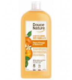 Shampoing douche des familles Fleur d'Oranger Méditerranée 1L Douce Nature