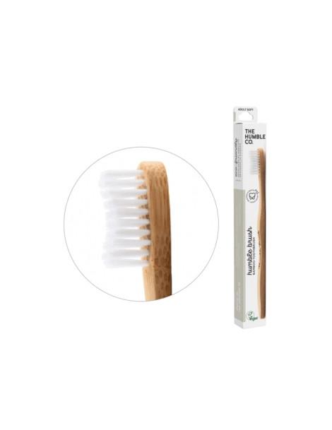 Brosse à dents adultes blanche Médium Humble Brush