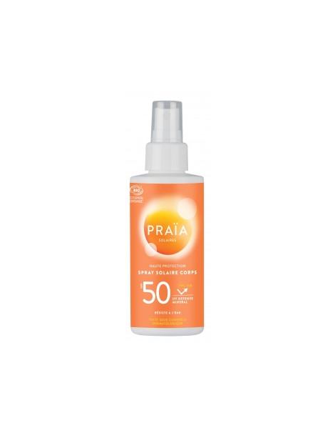 Spray solaire SPF50 100ml Praia
