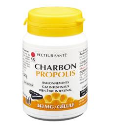 Carbo'Activ Propolis 60 gélules Vecteur santé
