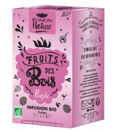 Infusion plaisir Fruits des Bois bio Romon Nature