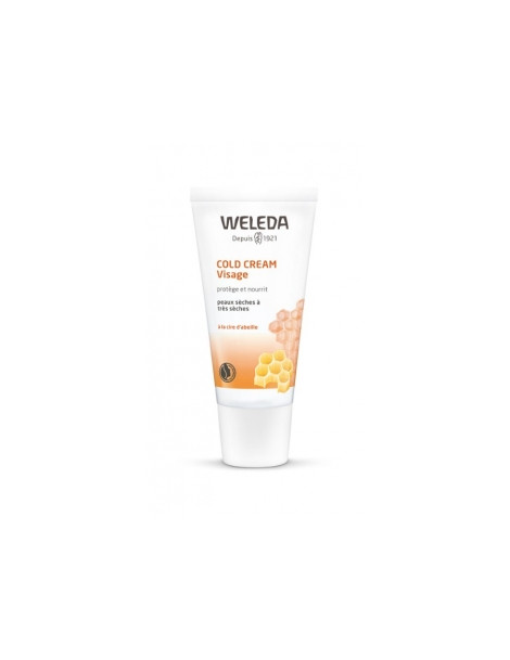 Cold Cream visage soin protecteur intensif 30ml Weleda