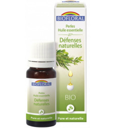 Perles d'huiles essentielles complexe Défenses naturelles 20ml Biofloral