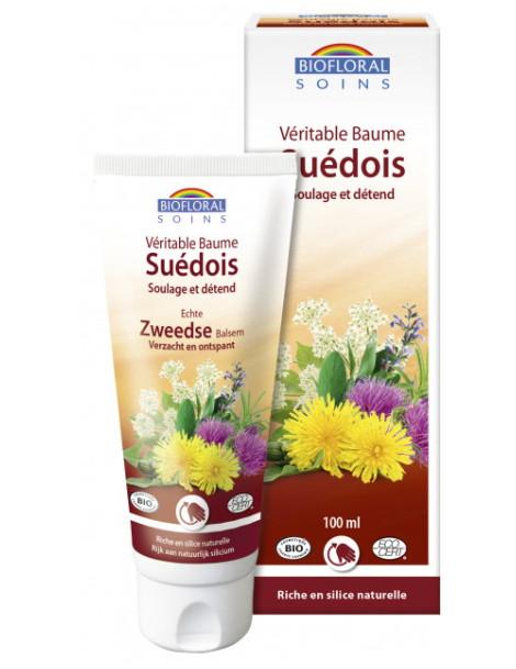 Baume du Suédois 100ml Biofloral baume de massage Herboristerie de paris