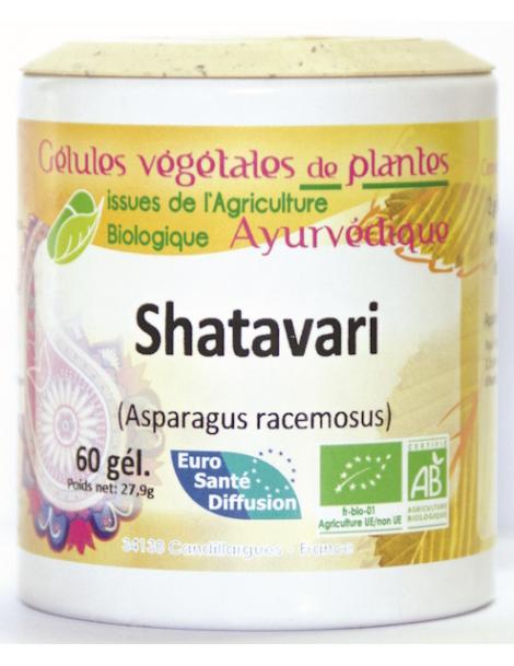 Shatavari 375mg BIO 60 gélules Phytofrance