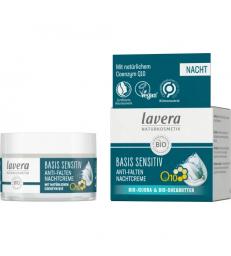 Crème de nuit anti rides à la coenzyme Q10 50ml Lavera