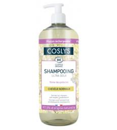 Shampooing cheveux normaux ultra doux reine des prés d'Auvergne 1 Litre Coslys
