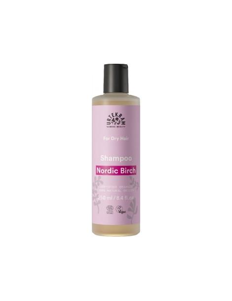Shampoing au Bouleau cheveux secs 250ml Urtekram