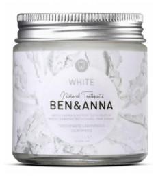 Dentifrice en pot Blancheur WHITE 100ml Ben & Anna