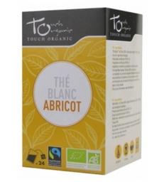 Thé blanc BIO à l'abricot 24 sachets 43g Touch Organic