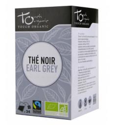 Thé noir Earl Grey BIO 24 sachets 48g Touch Organic