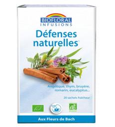 Infusion Défenses naturelles 20 sachets 24g Biofloral