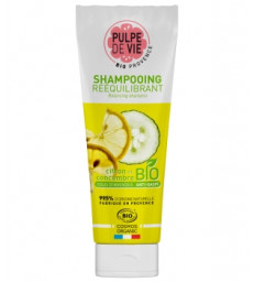 Sorbet givré Shampooing Rééquilibrant Citron et Concombre 250ml Pulpe De Vie