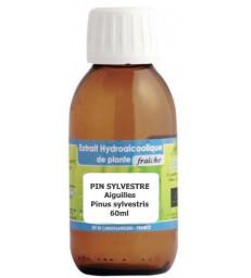 Extrait hydro alcoolique Pin sylvestre aiguilles 60ml Phytofrance
