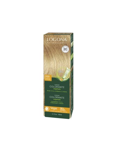 Crème colorante Aurore cheveux blonds 150ml Logona
