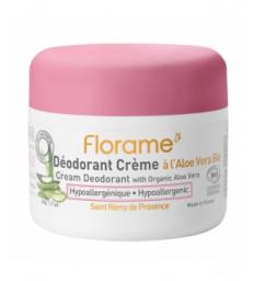 Déodorant crème à l'aloe Vera Bio 50g Florame