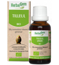 Extrait de bourgeons de Tilleul 50 ml Herbalgem