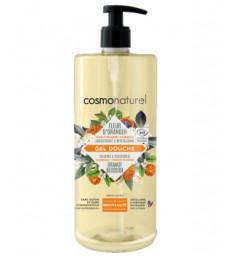 Gel douche Fleur d'oranger et Calendula Adoucissant et revitalisant 1L Cosmo Naturel