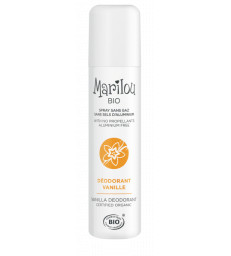 Déodorant spray Vanille 75ml Marilou Bio