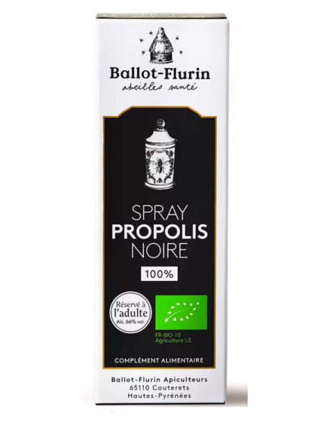 Spray à la propolis noire 15ml Ballot Flurin
