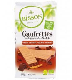 Gaufrettes chocolat 190g Bisson