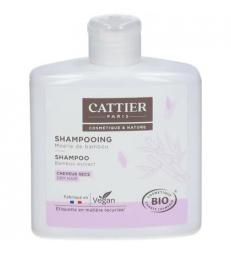 Shampoing à la moëlle de bambou cheveux secs 250ml Cattier