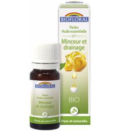 Perles d'huiles essentielles complexe Minceur et drainage 20ml Biofloral