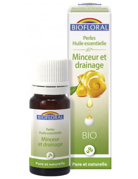 Perles d'huiles essentielles complexe Minceur et drainage 20ml Biofloral aromathérapie herboristerie de paris