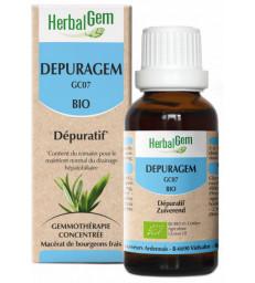 Depuragem Bio Flacon compte gouttes 50ml Herbalgem
