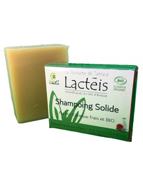 Shampooing solide cheveux normaux à gras 110g Lactéis Le Domaine De Tamara