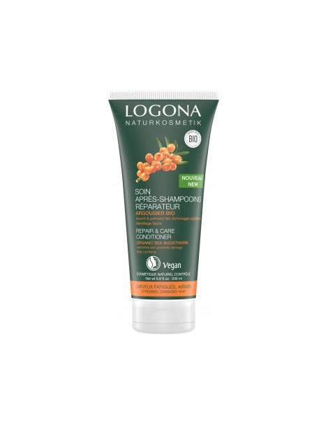 Après shampoing réparateur argousier 200ml Logona