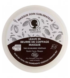 Masque soin sublimateur Cacao Mangue Karité cheveux frisés à crépus 200ml Noire O Naturel
