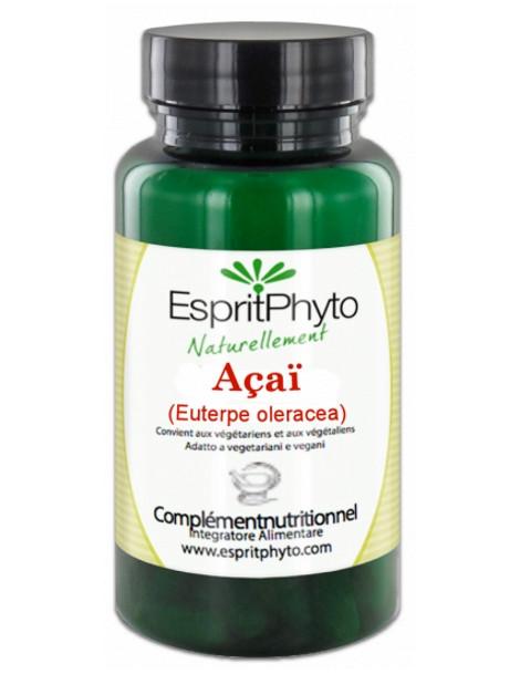 Açai 90 gélules Esprit phyto antioxydants Herboristerie de paris