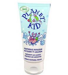 Dentifrice Douceur Fluor et Calcium 50ml Planet Kid