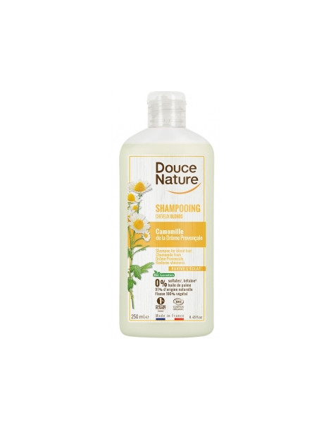 Shampooing Reflets Cheveux Blonds Avoine Camomille 250ml Douce Nature