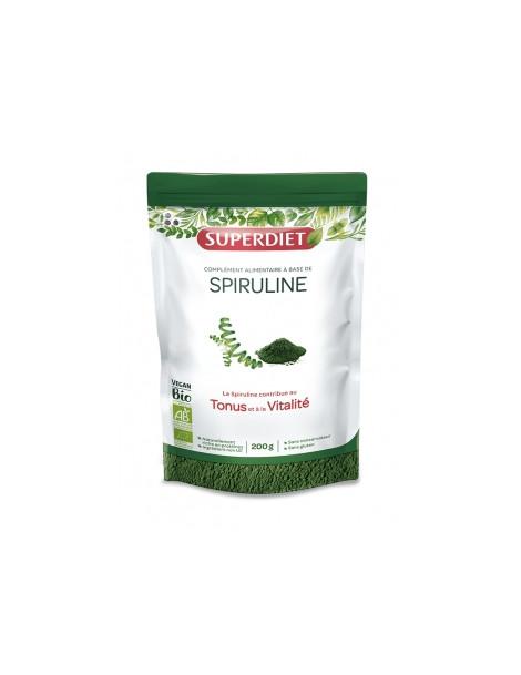 Spiruline Bio 200g Super Diet